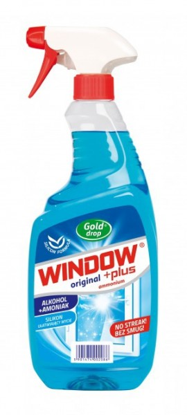 Detergent geam Window Plus alcool+amoniac 750ml