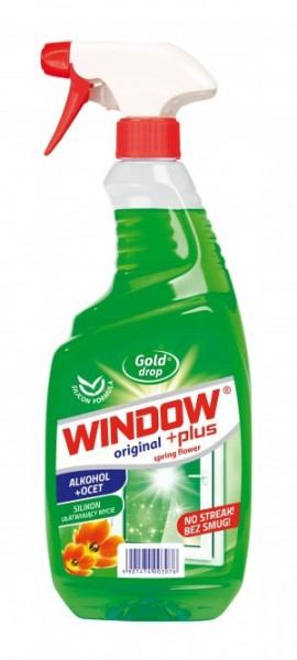 Detergent geam Window Plus alcool+otet 750ml